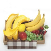 banana protector case - Large Cute Banana Guard Container Storage Lunch Fruit Protector Plastic Box Case piece