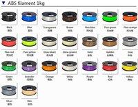 Wholesale DIY D Printer ABS Filament KG M MM Colorful D Drawing Pen Filament D Printer Pen Filament