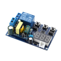 ac delay timer - AC V LED Display Relay Switch Module Multifuctional Timer Module Automation Digital Delay Timer Control