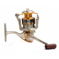 Wholesale 3000 Series Balls Bearing Metal Spool Spinning Salt Water Fishing Reel FHG_006