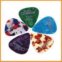 Wholesale Professional Multicolor Celluloid Plectrums Alice AP A mm mm Picks for Guitar Bass Ukelele Accessories