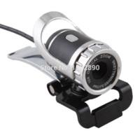 Wholesale Hign Speed USB WebCam PC Web Camera Lens w MIC Microphones for Laptop Desktop lens glass