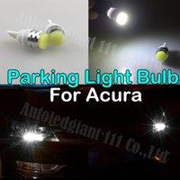 acura slx - 2pcs W Led T10 Led W5W V Car Light Parking Light Blub For Acura CL EL CSX ILX MDX NSX RDX RL SLX TL TSX Vigor ZDX