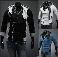 Wholesale Factory New coats men outwear Mens Special Hoodie Jacket Coat men clothes cardigan style jacket