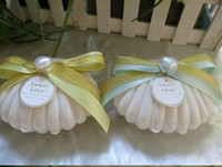 beach themed candy - 2014 new cute plastic white seashell wedding candy boxes beach themed wedding favors gift box baby shower favor chocolate box
