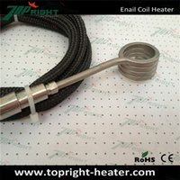 Wholesale ID20 w Elements of coil heater with thermocouple coil heating element from China Topright Industrial technology