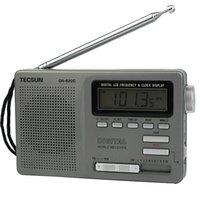 achat en gros de tecsun radio-TECSUN Portable DR-920C FM MW SW 12 Band Radio-réveil numérique Alarme Nuit rétroéclairage Y4139H
