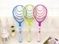 mosquito racket - Rechargeable Electric Insect Bug Bat Wasp Mosquito Zapper Swatter Racket anti mosquito killer Electric Mosquito Swatter ss275