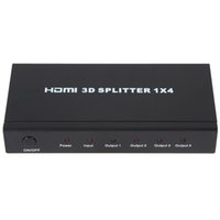 audio splitter box - 4 Port x Audio Video Converter P HD HDMI Splitter Amplifier Multiplier Box for HD TV PS3 D HMP_564