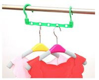 Wholesale Multi functional Clothes Hanger Hanging Device Closet Space Saver