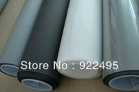 best window films - x5m white color film Holographic window film rear projection film holographic screen factory supply best price sales