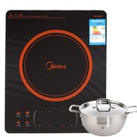 Wholesale Midea beauty cooker C21 RH2121 slim smart uniform fire slippery trinuclear touch arc control fire boilers