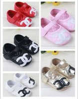 Wholesale fashion baby girls shoes Cute casual soft bottom non slip shoes A toddler shoes zapatos bebe size