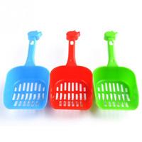 Wholesale Pet Garbage Shovel With Plastic Bags Plastic Pet Dog Products Cat sand shovel