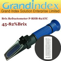 juice concentrate - Retail hand held Brix refractometer P RHB ATC for the sugar content of concentrated fruit juice condensed milk jam