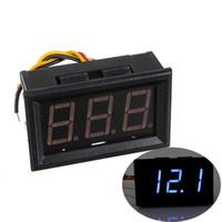 Wholesale Promotion High Quality Blue LED Digital Mini Voltmeter Voltage Panel Meter D C V Vehicle Motor