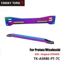 Wholesale Tansky Aluminum Neochrome Rear Suspension Rear Subframe Brace Lower Tie Bar For Mitsubishi Proton Wira Evo1 TK ASRBE PT C