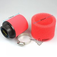 Wholesale Two Colors Air Filter mm Foam Cleaner Moped Scooter cc cc CRF KLX Pit Dirt Bike