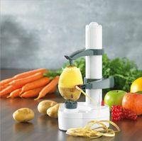 electric potato peeler - Multifunction Stainless Steel Electric Fruit Apple Peeler Potato Peeling Machine Automatic