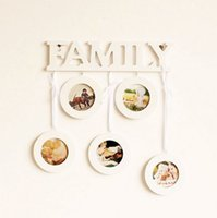 small picture frame - Very Nice Home Decorative Popular Boxes Round White Small Family Picture Frames Set