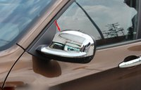 Wholesale Car Accessories Side Mirror cover rearview mirror cover for bmw x1 E84 Xdrive abs chrome order lt no trac