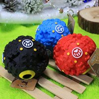 Wholesale The new pet toys Talking toys Pet dog food leakage ball long molars puzzle resistance to bite