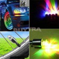 auto motor seal - Precious Nolvety LED Wheel Light Flash Valve Sealing Cap Neon Lamp For Car Bicycle Motor Auto External Lights Warning Lights