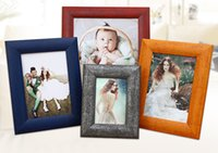 Wholesale Solid Wood Wall photo frame set wood picture frames Combination wall photo frame wood frames for paintings Classic