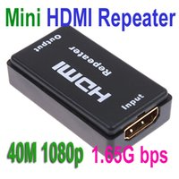 Wholesale Mini HDMI Repeater Extender HDMI Amplifier Booster FT M p G bps