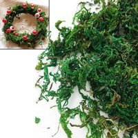 aerial basket - New Arrive g Artificial Dried Moss for Flowers Basket Home Graden Garland Decor Decoration hot selling