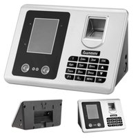 Wholesale US Stock Face Attendance Machine Facial Recognition System USB TCP IP Password Fingerprint Access Time Recorder Clock Facial Scanner