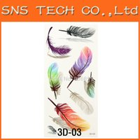 art paper products - Sheet Feather D Design Flash Tattoo Gold Temporary Tattoos Glitter Stickers Sexy Tatoo Products Paper For Women Art Tattoos