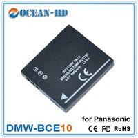 Wholesale 1000mah DMW BCE10 Lithium Digital Camera Battery For Panasonic Camcorder Lumix DMC FS5 DMC FS20 DMC FX36 DMC FX500 FX520 FS3 FS5 FS20 FX30