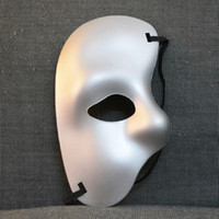 Wholesale 60pc Party mask half face mask Phantom of the Opera right half of the face cloth mask