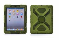 arrival defender - 2014 new arrival Pepkoo Defender Military Spider Stand Water dirt shock Proof Case Cover iPad Air iPad