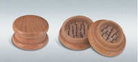 spice smoke - 500pcs Wooden Herb piece Spice Grinder with Pin teeth Smoking New