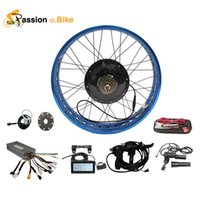 Wholesale Passion Ebike V W DIY Color fat electric bicycle bike motor conversion kit