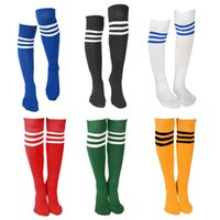 ladies socks - S Ladies Mens Top Stripe Socks Referee Socks Football Socker Baseball Stockings