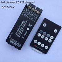 high power rf - high power dc12v v rf wireless max A led dimmer remote controller lighting accessories to control single color led strip