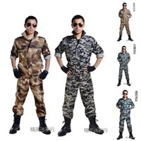 hunting clothes - Combat BDU Uniform Camouflage Military Outdoor Work Sports Training Hunting Paintball Clothes Camo Clothing