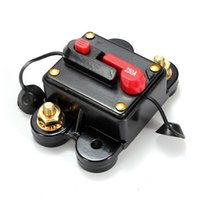 Wholesale High Quality A Car Marine Boat Bike Stereo Audio Inline Circuit Breaker Fuse DC V V order lt no track