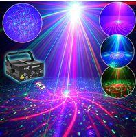 Wholesale Z80RGR New Remote lenses Patterns RGRB Laser BLUE LED Mix Effects Stage Lighting DJ Bars Home Party Show Lights Xmas AC110V V