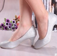 Women best bridal shoes - Best Sliver Red Gold Wedding Bridal Shoes Lady Women s Dress Shoes cm Heels Party Prom Shoes