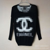Wholesale The new special offer all match BianFuShan jacquard sweater long sleeved sweater