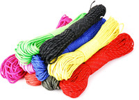Wholesale 328Ft m reflective paracord new Paracord Parachute Cord Lanyard Rope Mil Spec Type III core strand colors