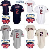Baseball authentic twins jersey - 2016 New Men Authentic Minnesota Twins Brian Dozier jersey cheap stittched white gray blue beige Baseball Jerseys Embroidery logos