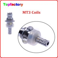 Cheap Universal coil for Mt3 GS H2 protank Clearomizer Atomizer Detachable replacement Coil Free Shipping