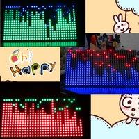Wholesale KTV LED RGB color dot matrix music spectrum lighting LED display screen entertainment decoration