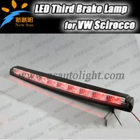 Wholesale Car Rear Lights Red LED High Mount Led Third rd Stop Brake Lamp Auto Warning light For VW Scirocco V OEM fit
