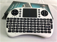 Wholesale wireless mini keyboard Rii Mini i8 Wireless Keyboard Mouse with Touchpad for PC Pad Andriod TV Box